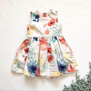 12-18M Toddler Floral Summer Dress